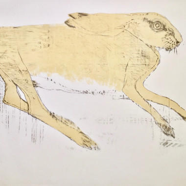 Elisabeth Frink - Hare, from Images, 1967