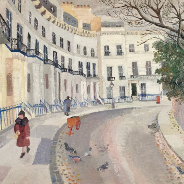 Joan Warburton - Pelham Crescent, 1946
