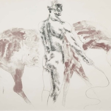 Elisabeth Frink - Man and Horse III, 1971