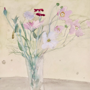 Elizabeth Blackadder - Late Summer Flowers, 1978