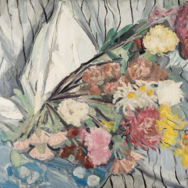 Jacqueline Marval - Still life with Carnations, 1910s circa