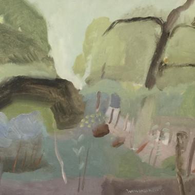Ivon Hitchens - Landscape, c 1940s