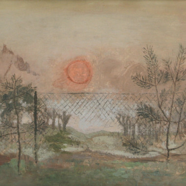 Mary Potter - The Setting Sun, 1958