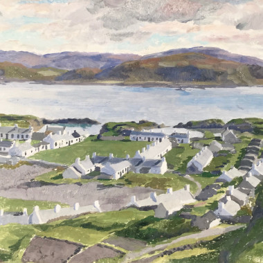 Stephen Bone - Easdale Island, Argyllshire, 1928