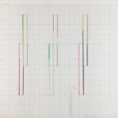 Marc Vaux - Design for a Sculpture, 1981