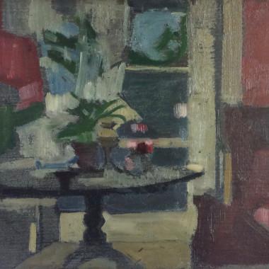 Victor Pasmore - Hammersmith Interior, c 1941