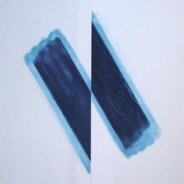 Richard Smith - Untitled (Cobalt Blue), 1977