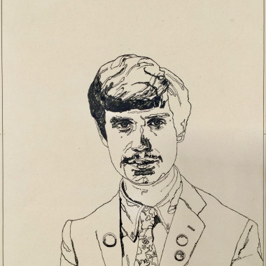 Peter Blake - The Student (for Richard Branson), 1967