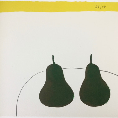 William Scott - Dark Pears