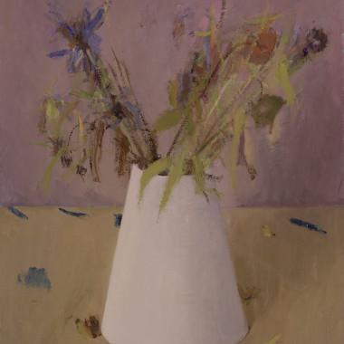 Haidee Becker - White Vase