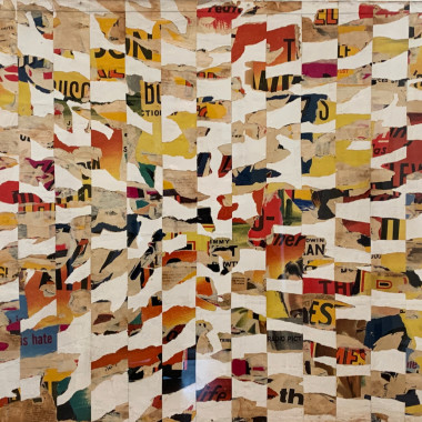 Richard Allen - Untitled Pop Collage (Red and Yellow), 1962 circa