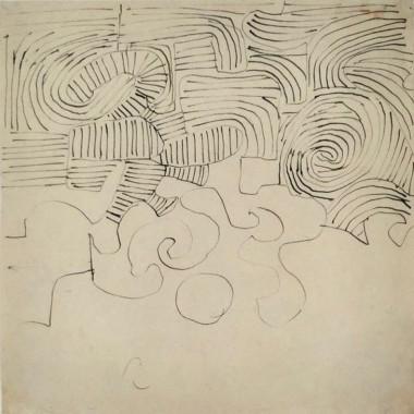 Victor Pasmore - Spiral Study, c 1951