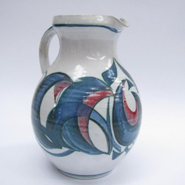 Alan Caiger-Smith - A large Aldermaston Pottery jug, 1977