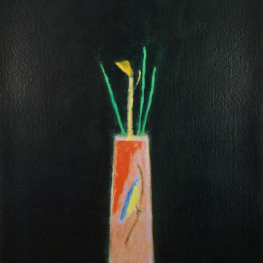 Craigie Aitchison - Still life with a Bird Vase, 2004
