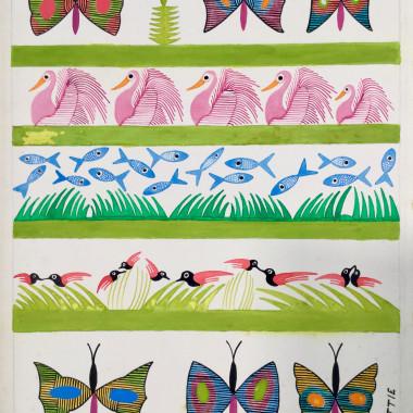 Scottie Wilson - Spring , c 1960