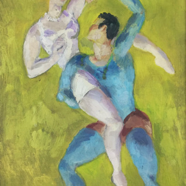 Duncan Grant - Two Dancers, 1965