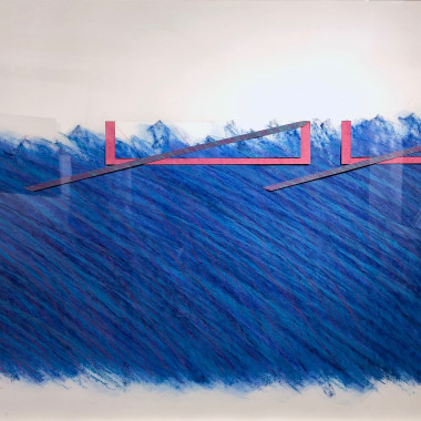Richard Smith - Blue Drawing, 1970