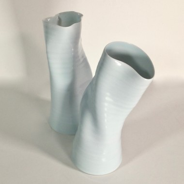 Anja Lubach - Two twisted vases
