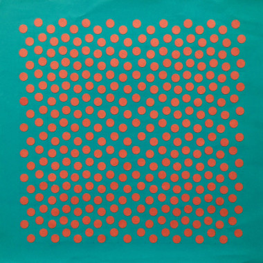 John McLean - M.4 (Dots on Blue), 1969/70