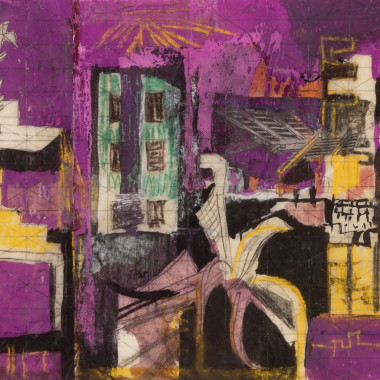 Graham Sutherland - Devastation: Bomb Damage, London, 1940-41