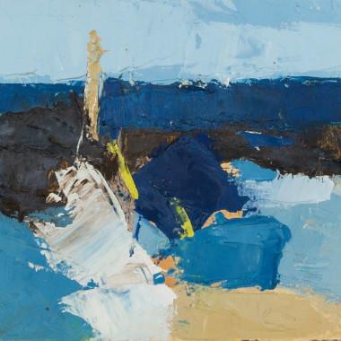 John Hubbard - La Cadiere (Horizon), 1961