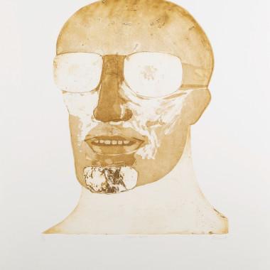 Elisabeth Frink - Goggled Head, 1973
