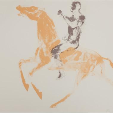 Elisabeth Frink - CAS Horse and Rider (Wiseman 49), 1971
