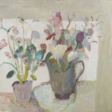 Nicholas Turner - Flowers on a Table, 2021