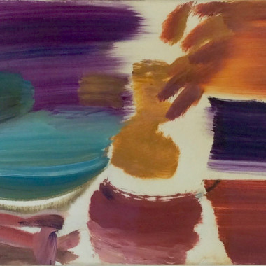 Ivon Hitchens - Chestnut Spaces, 1963