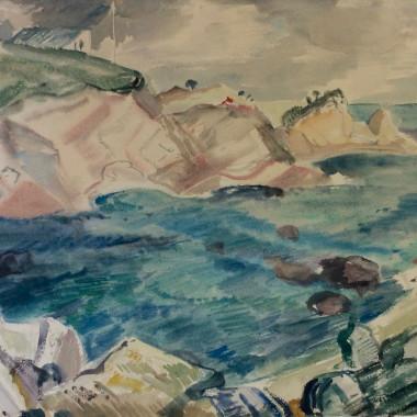 Robin Wallace - Coastal Scene