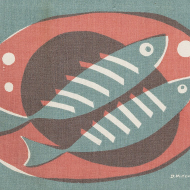 Denis Mitchell - Two Fish on a Plate, from Porthia, c 1955