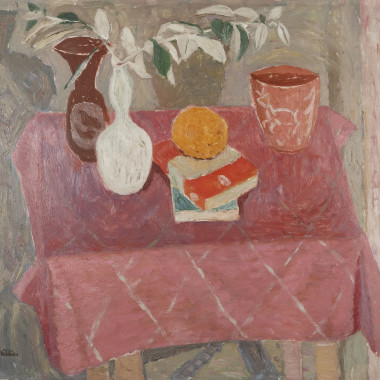 William George Gillies - The Pink Tablecloth, 1950s circa