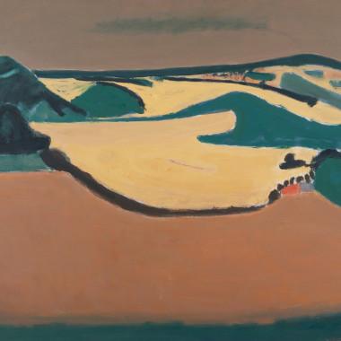 Henri Hayden - La Plain jaune (The Yellow Plain), 1968