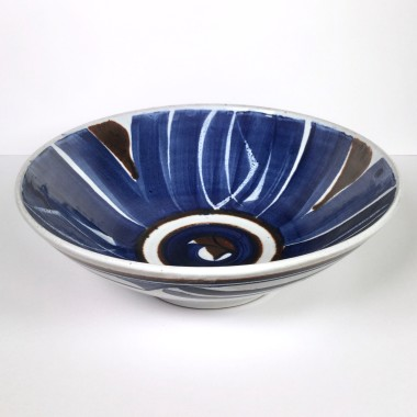 Alan Caiger-Smith - Aldermaston Pottery open bowl, 1990