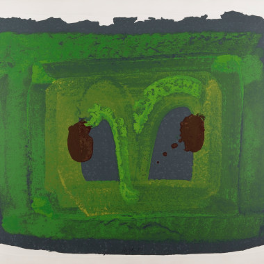 Howard Hodgkin - Lotus, 1980