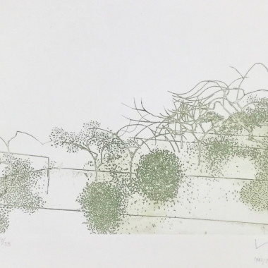 Victor Pasmore - Metamorphosis (Linear Motif), A (Gardens of Hammersmith I), 1945/76