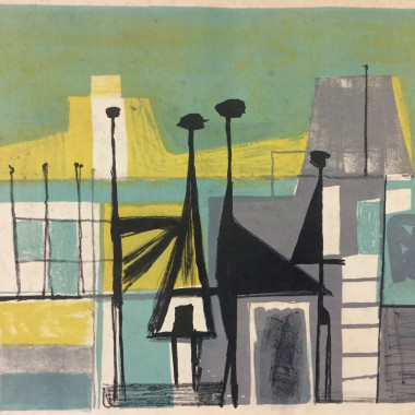 Henry Cliffe - Abstract (Figures), c 1952