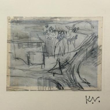 Keith Vaughan - Sketch of House