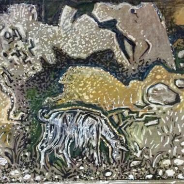 John Craxton - Mountain Goat