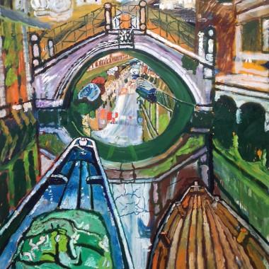 John Bratby - Venice