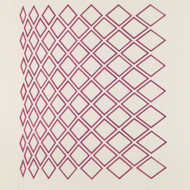 Tess Jaray - Minaret IV, 1984