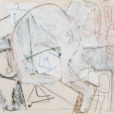 Brian Fielding - Untitled I (Drawing), 1987