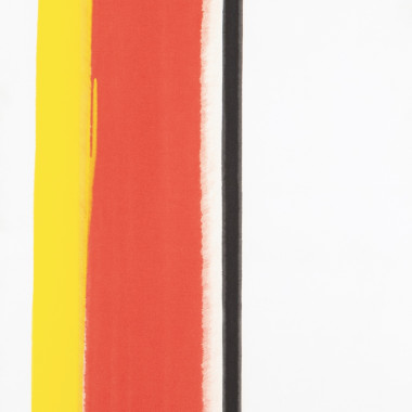 John Copnall - Red, Yellow, Black V (Blue), 1971