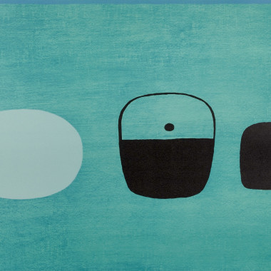 William Scott - Green Predominating, from Summer Suite, 1976