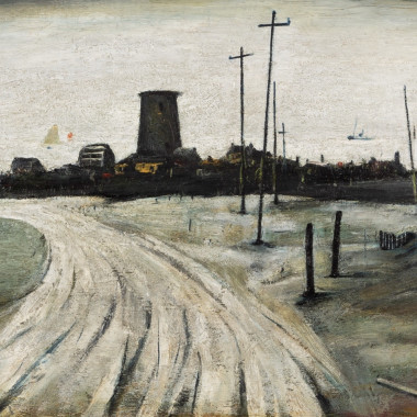 Laurence Stephen Lowry - An Old Windmill (Amlwch, Anglesey), 1941