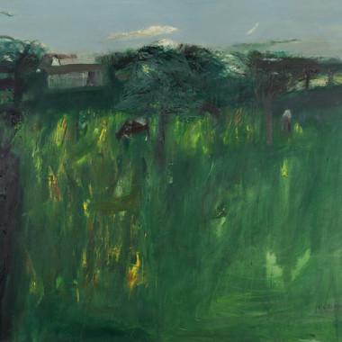 Elizabeth Blackadder - Normandy Orchard, 1964