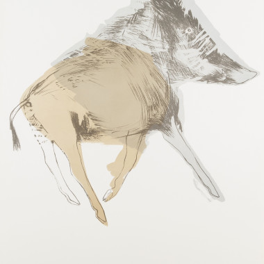 Elisabeth Frink - Wild Boar, from Images, 1967