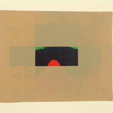 Howard Hodgkin - Indian View E (Heenk 15), 1971