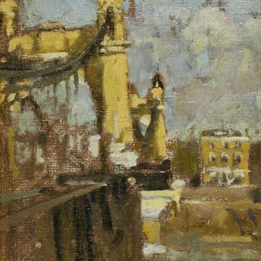 Bernard Dunstan - Hammersmith Bridge