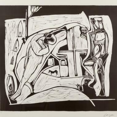 Peter Lanyon - The Returned Seaman, 1973